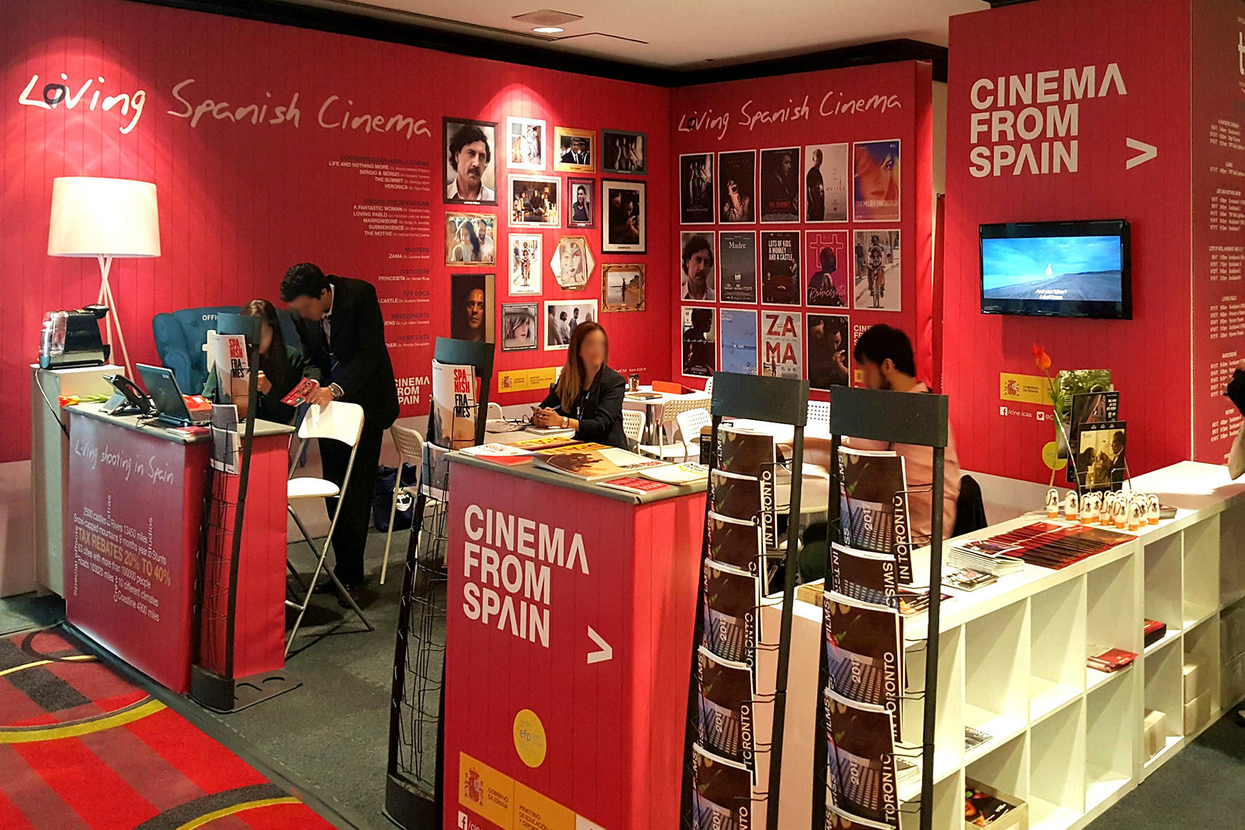 ICAA Stand · Toronto Int'l Film Festival 2017